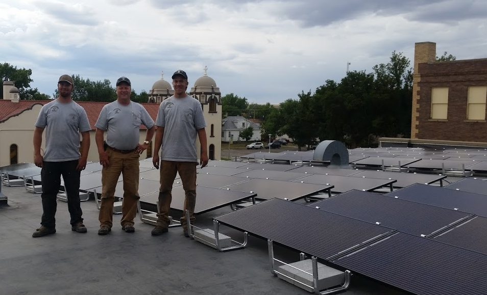 34.2kW solar array is largest on a Catholic Grade School in Montana