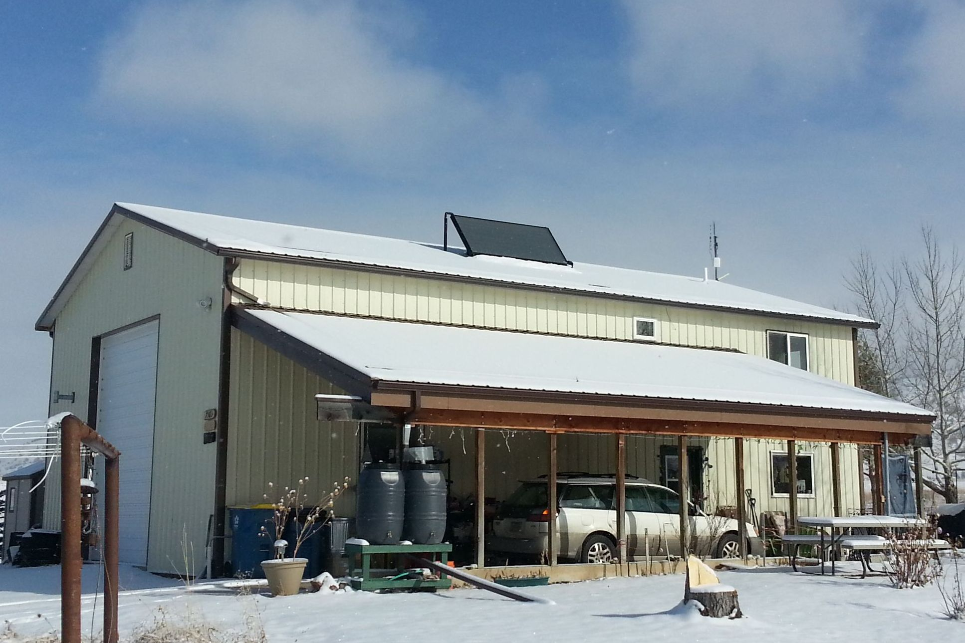 Bozeman Couple Saves on Propane with Solar Water Heating