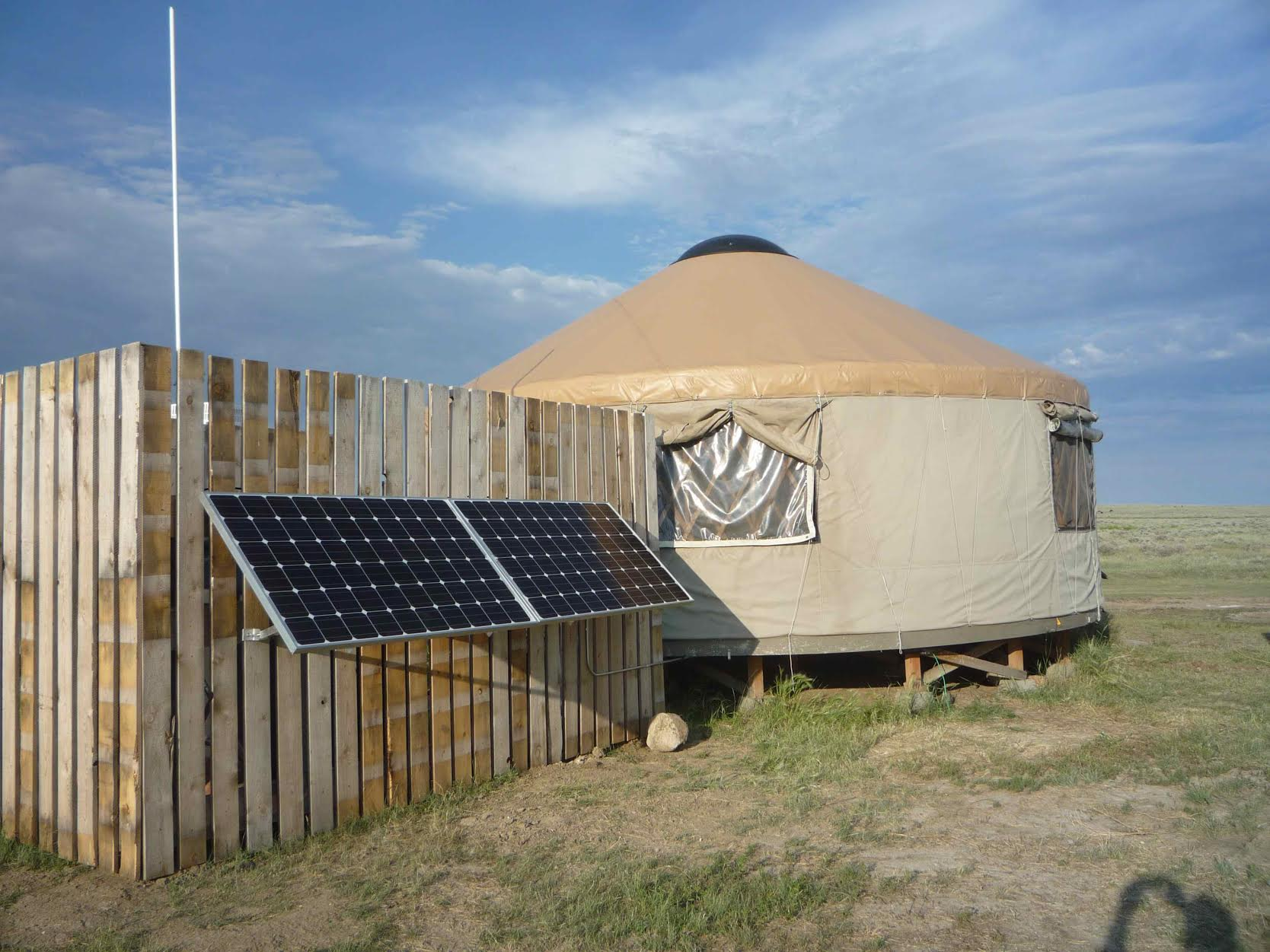 Solar is Natural Fit for Remote Prairie Reserve