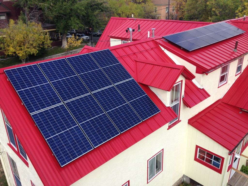 Solar Complements Ground-Source Heat Pump for Helena Family