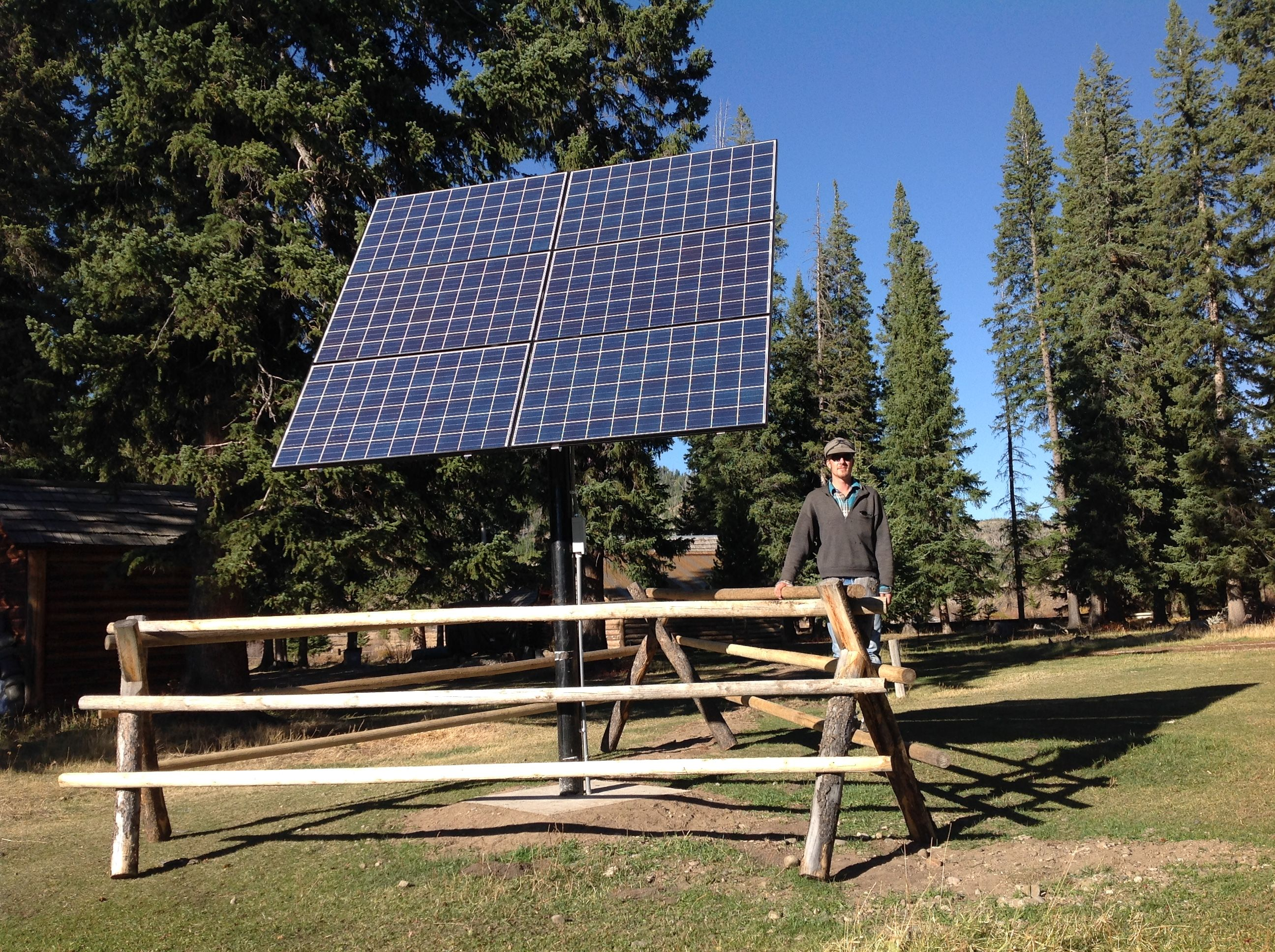 Horse-Drawn Wagons Bring Solar to Remote Montana Ranch