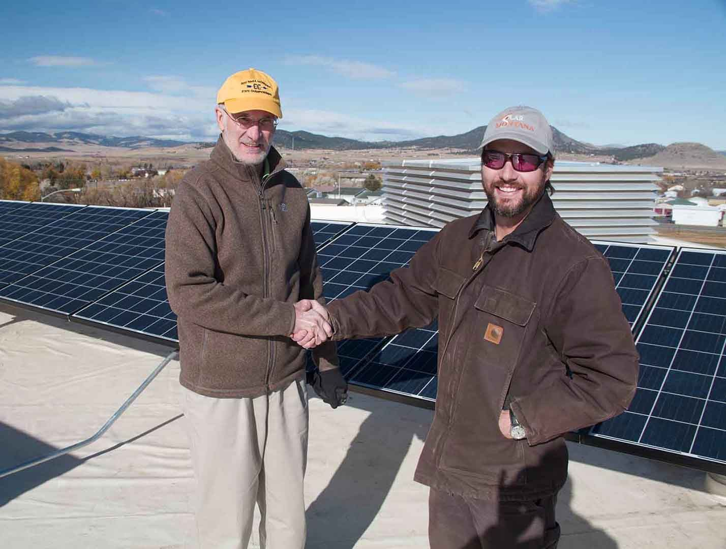 New Solar Array Lights Up Capital High School