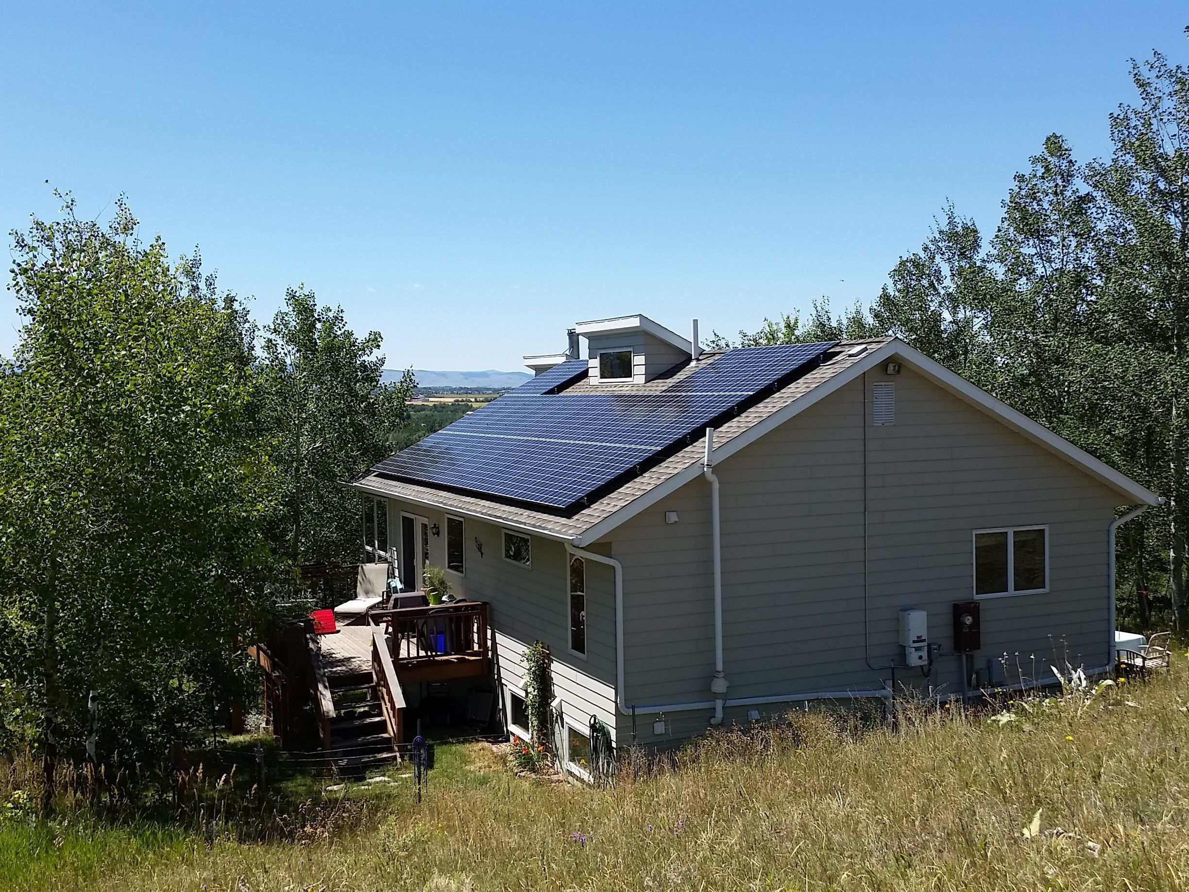 Power Optimizers Maximize Solar Production on Bozeman Home