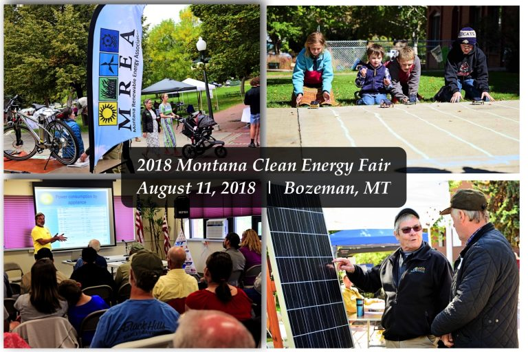 Clean energy fair collage