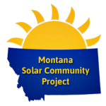 Montana solar community project logo