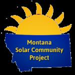 Montana solar community project logo