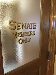 Senate Members only