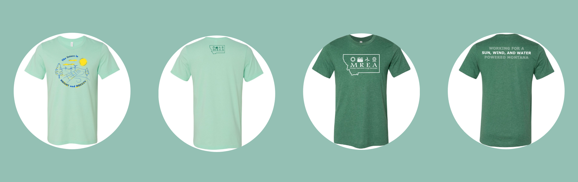 MREA T-shirts