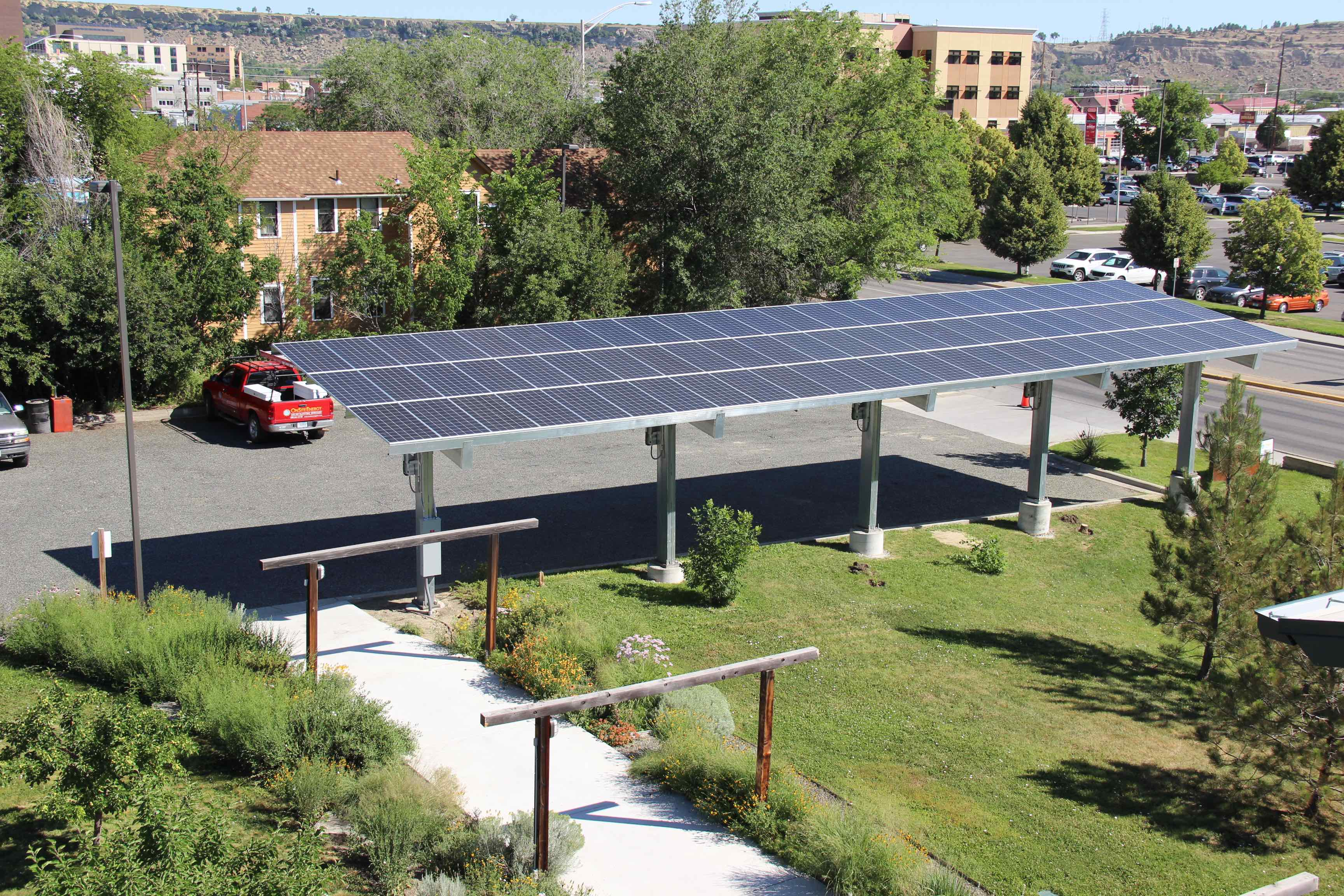 First LEED Platinum building in Montana now using 100% solar