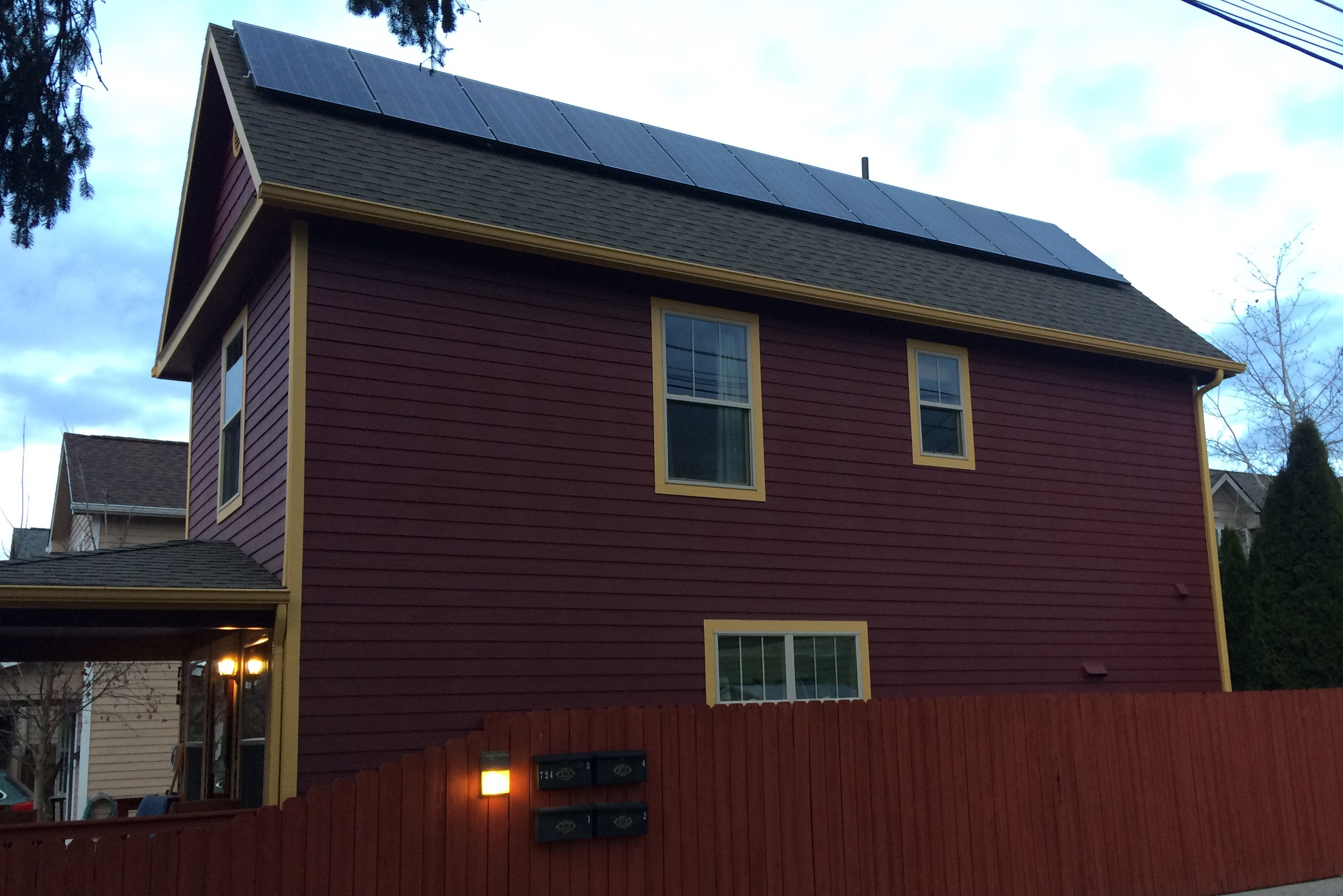 Steep Roof Means GreatWinter Production