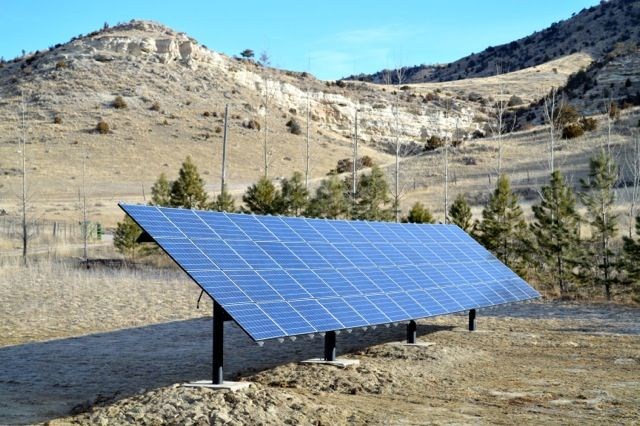 Three Forks Pole Mounted Solar Array Supports Montana Manufacturing