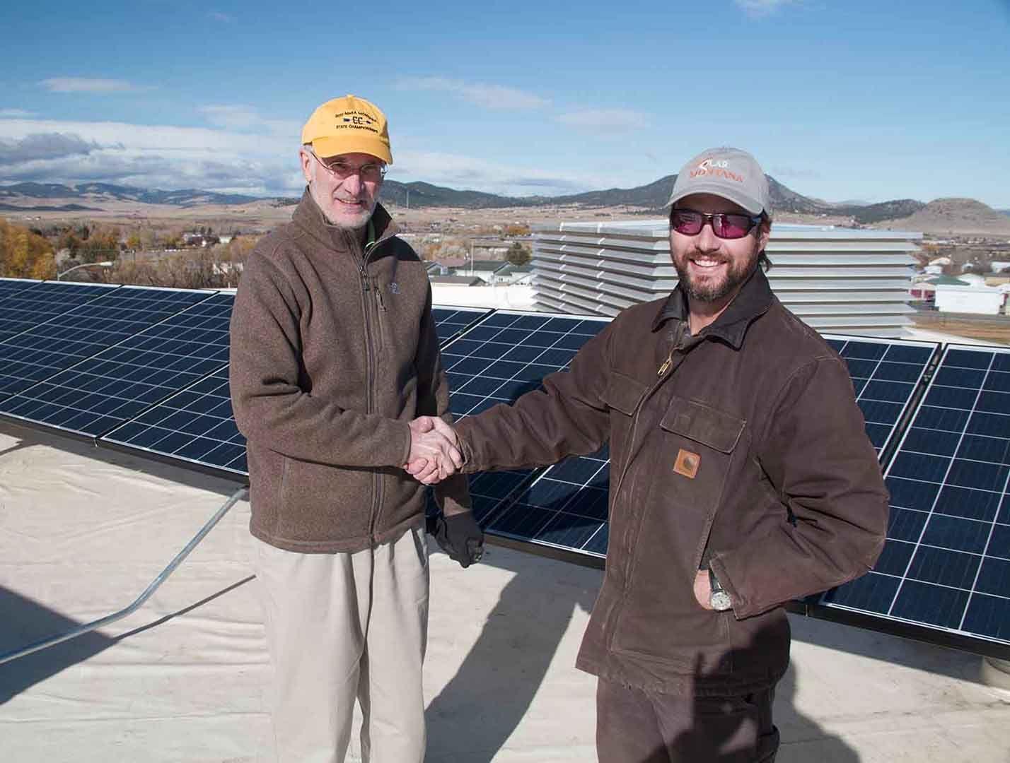 New Solar Array Lights Up Capital High School