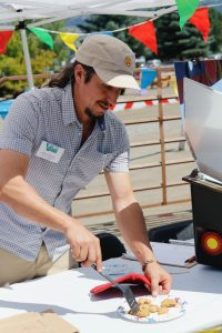 Serving up solar-powered cookies!